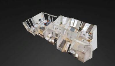 Boniswil | 4.5 Zi Musterwohnung Miete 3D Model