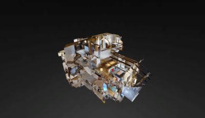 Chesa Fluor – Zuoz 3D Model