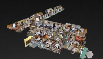 Park Hotel & Motel La Selva 3D Model