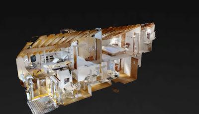 La Scuntreda – Celerina/Schlarigna 3D Model
