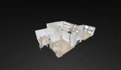 3 1/2 – Zimmer-Attikawohnung 3D Model
