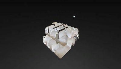 4 1/2 Zimmerwohnung OG und DG 3D Model
