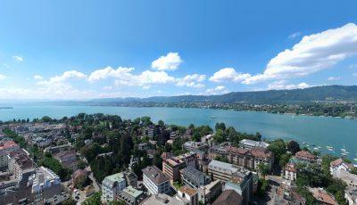 Zürich – Drone 360° view 3D Model