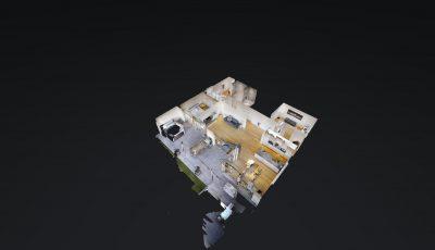 4.5 Zimmer Terrassenwohnung 3D Model