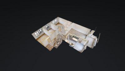 4.5 ZWG, 104m2, 2. OG – Avenue de la Gare 47, 1920 Martigny 3D Model