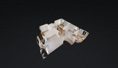 4 ZWG, 98m2, 2. OG – Place Centrale 3, 1920 Martigny 3D Model