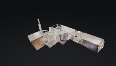 3.5 ZWG, 95m2, 2. OG – Avenue de Pratifori 5, 1950 Sion 3D Model