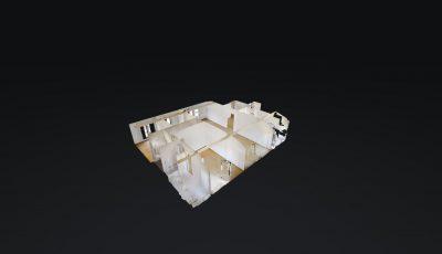 4.5 Attikawohnung, 140m2, 5. OG – Avenue de la Gare 29, 1950 Sion 3D Model