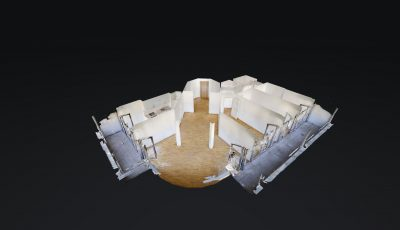 4.5 ZWG, 126m2, 4. OG – Avenue de la Gare 29, 1950 Sion 3D Model