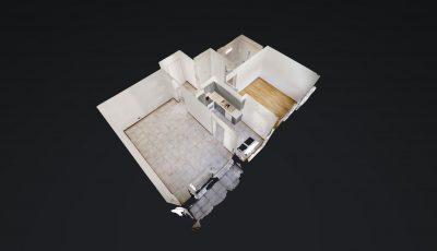 2.5 ZWG, 54m2, 1. OG – Avenue de la Gare 47, 1920 Martigny 3D Model