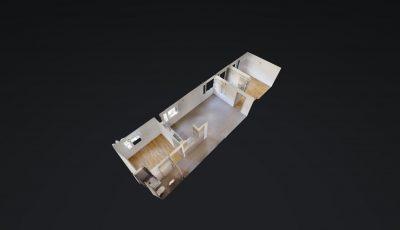 3.5 ZWG, 66m2, 3. OG – Rue Oscar-Bider 112, 1950 Sion 3D Model