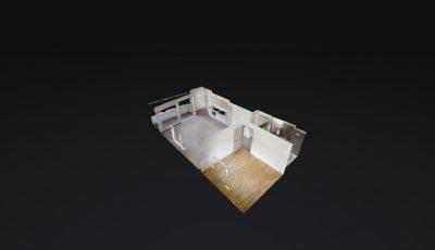 2.5 ZWG, 63m2, 2. OG – Rue Oscar-Bider 110, 1950 Sion 3D Model