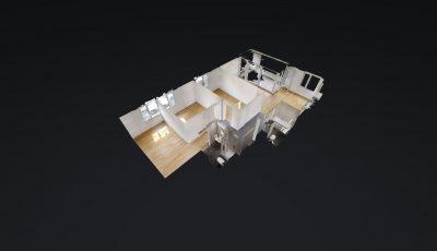 4.5 ZWG, 4. OG, 101.8m2 Haus C, C407 3D Model