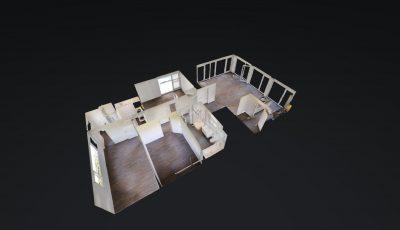 Wohnung, 4.5 Zimmer, Attika -Hagmattenweg 14, 5614 Sarmenstorf 3D Model