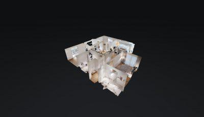 4.5-Zimmerwohnung im 2. OG / möbliert (97m2) 3D Model