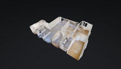 Markstein AG – Wohnung, 4.5 Zimmer 2. OG WHG Nr. 1716-9 3D Model