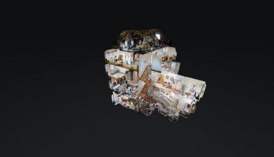 Reasco AG – Hotel Kronen – Rheinstrasse 2, 8253 Diessenhofen 3D Model
