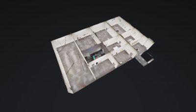 Kunstmuseum Luzern – Marion Baruch. Retrospektive – innenausseninnen 3D Model